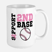 Breast Cancer 2nd Base Mug