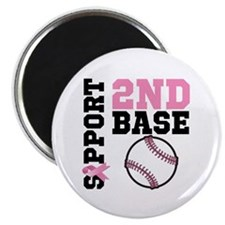 Breast Cancer 2nd Base Magnet