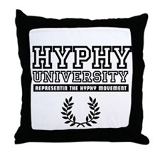 HYPHY UNIVERSITY Throw Pillow