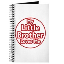Little Brother Loves Me Journal