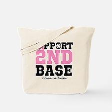 Save 2nd Base Tote Bag