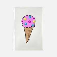 Bubble Gum Ice Cream Rectangle Magnet