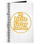 Little Sister Loves Me Journal