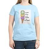 Ice cream Women's Light T-Shirt