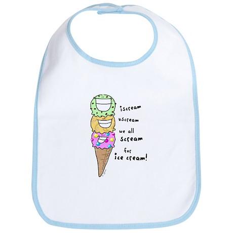Triple Cone Ice Cream Bib