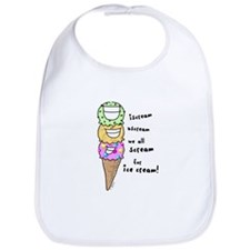 Triple Cone Ice Cream Bib