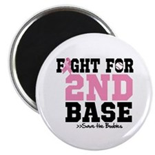 """Fight For 2nd Base 2.25"""" Magnet (100 pack)"""