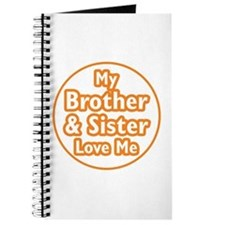 Bro and Sis Love Me Journal