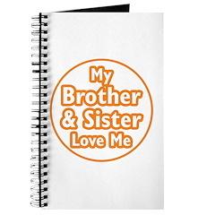 Bro and Sis Love Me Journal