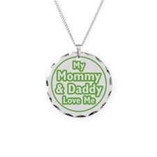 Mom and Dad Love Me Necklace