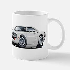 1970 Super Bee White Car Mug