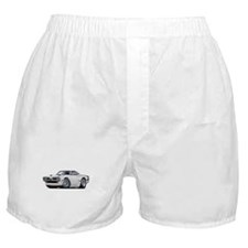 1970 Super Bee White Car Boxer Shorts