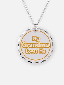 Grandma Loves Me Necklace
