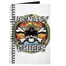 US Navy Chiefs Skull Journal