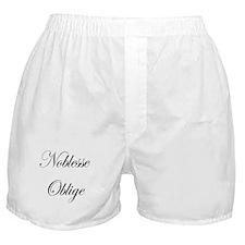 Noblesse Oblige Boxer Shorts
