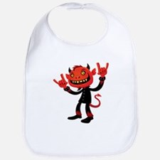 Heavy Metal Devil Bib