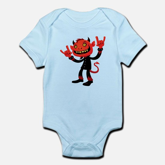 Heavy Metal Devil Infant Bodysuit