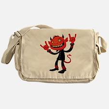 Heavy Metal Devil Messenger Bag