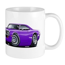 Super Bee Purple-White Hood Scoop Mug