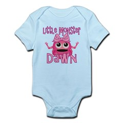 Little Monster Dawn Infant Bodysuit