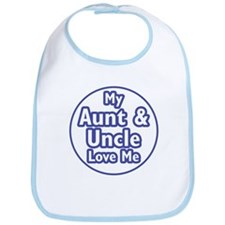 Aunt and Uncle Love Me Bib