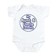 Aunt and Uncle Love Me Infant Bodysuit