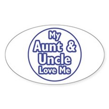 Aunt and Uncle Love Me Decal