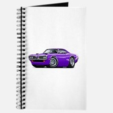 1970 Super Bee Purple-White Car Journal