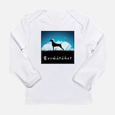 Nightsky Weimaraner Long Sleeve Infant T-Shirt