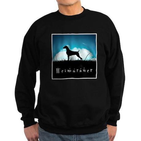 Nightsky Weimaraner Sweatshirt (dark)