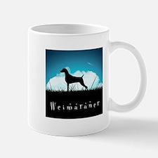 Nightsky Weimaraner Mug