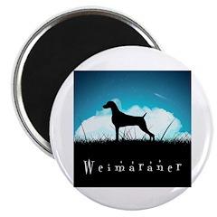 Nightsky Weimaraner Magnet