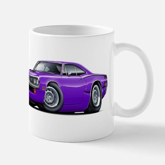 Super Bee Purple-Black Hood Scoop Mug