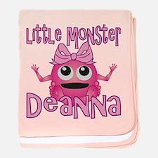 Little Monster Deanna baby blanket