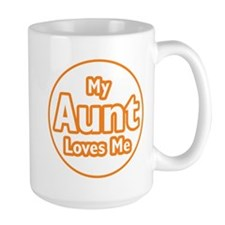 My Aunt Loves Me Mug