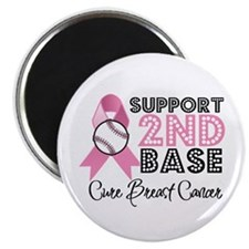 Support2ndBaseBreastCancer Magnet
