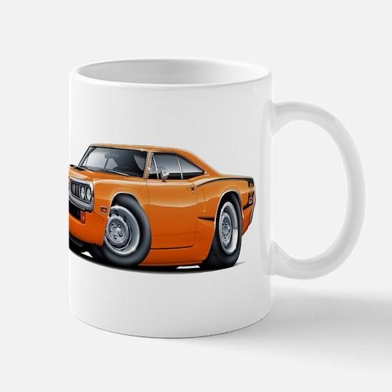 Super Bee Orange Hood Scoop Car Mug