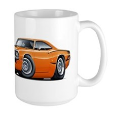 Super Bee Orange Hood Scoop Car Mug