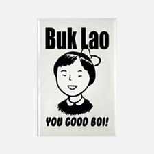 Buk Lao Rectangle Magnet