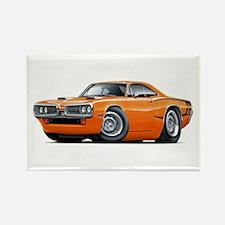 1970 Super Bee Orange Car Rectangle Magnet