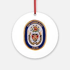 USS Carter Hall LSD 50 Ornament (Round)