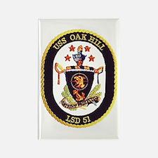 USS Oak Hill LSD 51 Rectangle Magnet