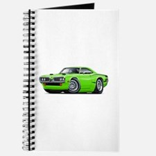 1970 Super Bee Lime Car Journal