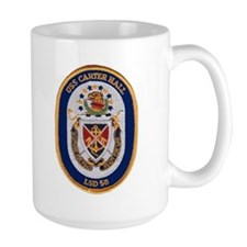 USS Carter Hall LSD 50 Mug