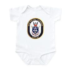 USS Pearl Harbor LSD 52 Infant Creeper