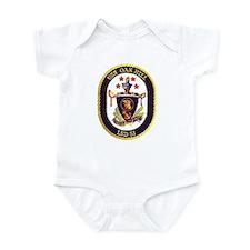USS Oak Hill LSD 51 Infant Creeper