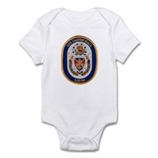 USS Carter Hall LSD 50 Infant Creeper