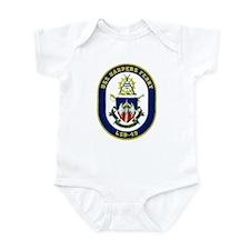 USS Harpers Ferry LSD 49 Infant Creeper