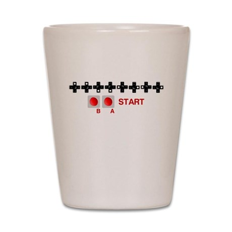 Eternal Life Code Shot Glass