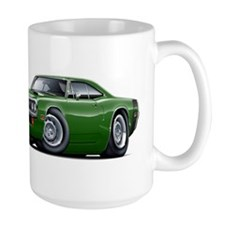Super Bee Green Hood Scoop Mug